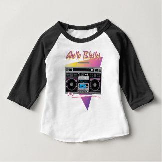 1980s ghetto blaster boombox baby T-Shirt