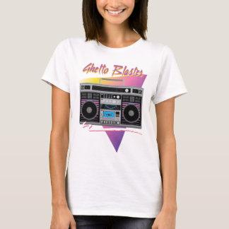 1980s ghetto blaster boombox T-Shirt