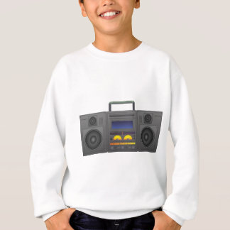 1980's Hip Hop Style Boombox Sweatshirt