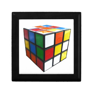 1980's Puzzle Cube Gift Box
