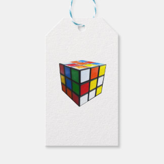 1980's Puzzle Cube Gift Tags