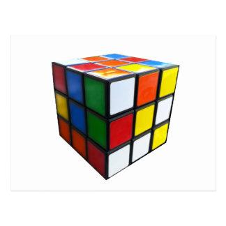 1980's Puzzle Cube Postcard