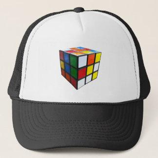1980's Puzzle Cube Trucker Hat