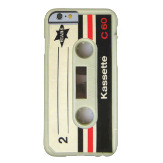 1980s Vintage geeky Retro cassette iPhone 6 case Barely There iPhone 6 Case