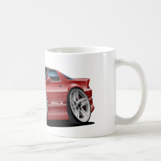 1982-92 Camaro Maroon Car Coffee Mug