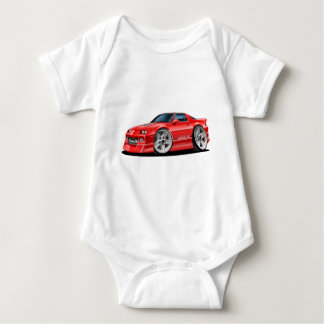 1982-92 Camaro Red Car Baby Bodysuit