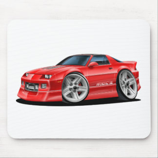 1982-92 Camaro Red Car Mouse Pad