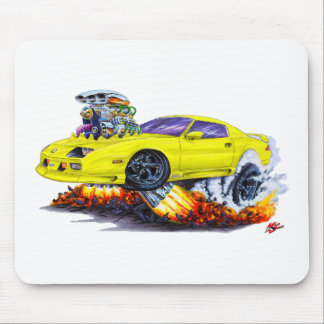 1982-92 Camaro Yellow Car Mouse Pad