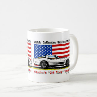1982 Collector Edition Corvette Coffee Mug