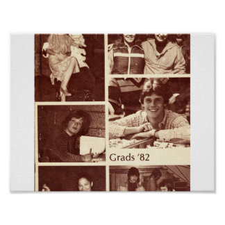 1982 Graydon Grad Book Poster