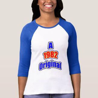 1982 Original Blue Red T-Shirt