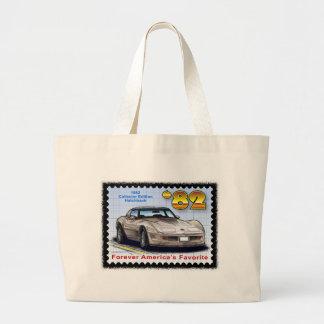 1982 Special Edition Corvette Jumbo Tote Bag