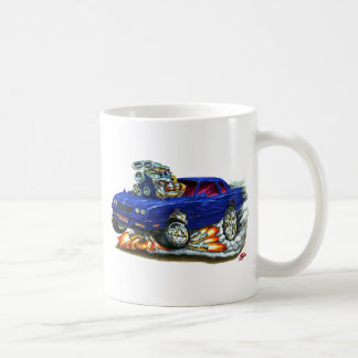 1983-88 Monte Carlo Blue Car Coffee Mug