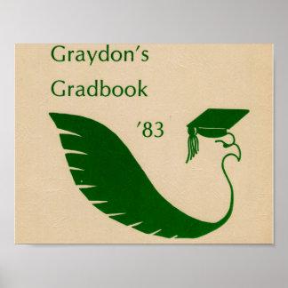 1983 Graydon Grad Book Poster