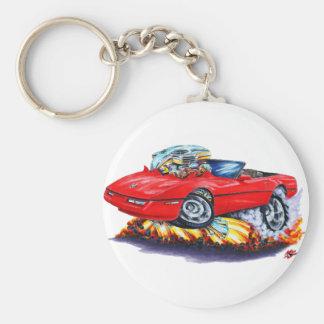 1984-93 Corvette Red Convertible Key Ring