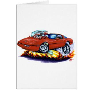 1984-93 Corvette Ruby Car Card