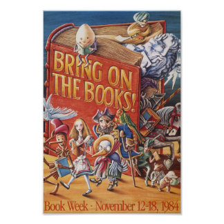 1984 Children's Book Week Poster