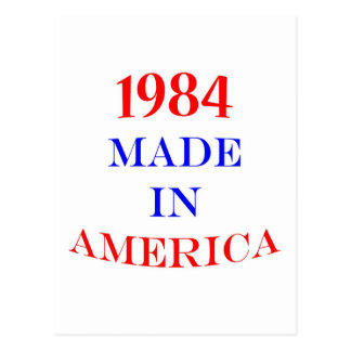 1984 Made in America Postcard