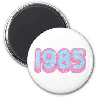1985 1 FRIDGE MAGNETS