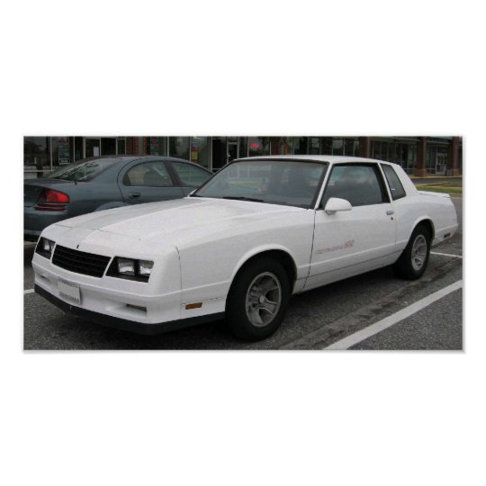 1986 Chevrolet Monte Carlo SS Poster