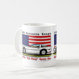1986 Corvette Coupe Coffee Mug