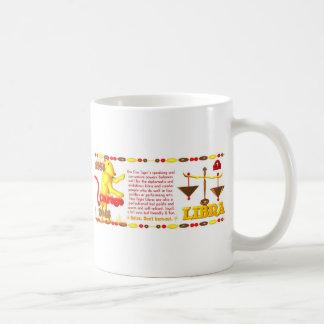 1986 Fire Tiger born Libra Coffee Mug