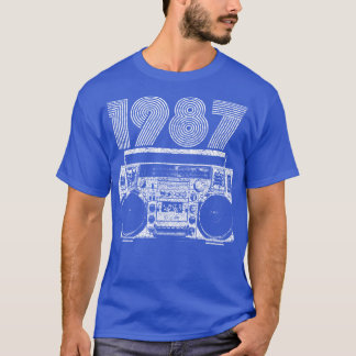 1987 Boombox T-Shirt
