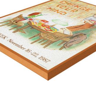 1987 Children's Book Week Canvas