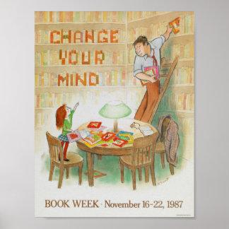 1987 Children's Book Week Poster