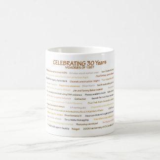 1987 Memories for 30th Birthday Celebration Coffee Mug