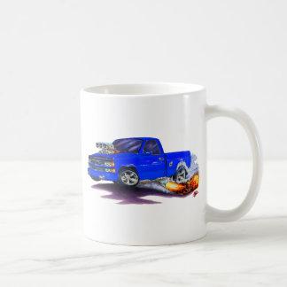 1988-98 Silverado Blue Truck Coffee Mug