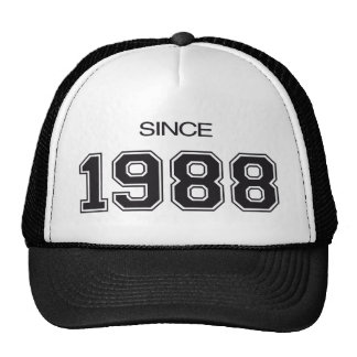 1988 birthday gift idea cap