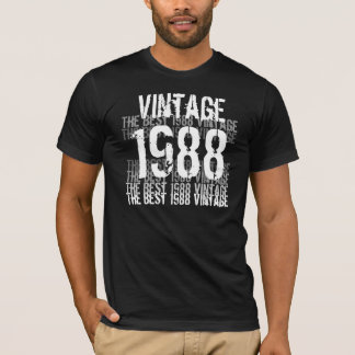 1988 Birthday Year - The Best 1988 Vintage T-Shirt