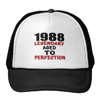 1988 LEGENDARY AGED TO PERFECTION CAP