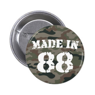 1988 Made In 88 6 Cm Round Badge