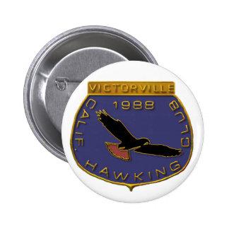1988 Victorville 6 Cm Round Badge