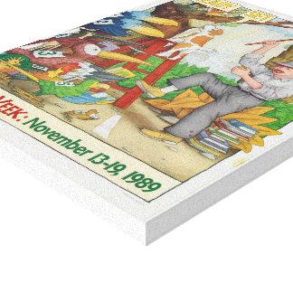1989 Children's Book Week Canvas