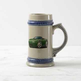 1990-98 Miata Green Car Beer Stein