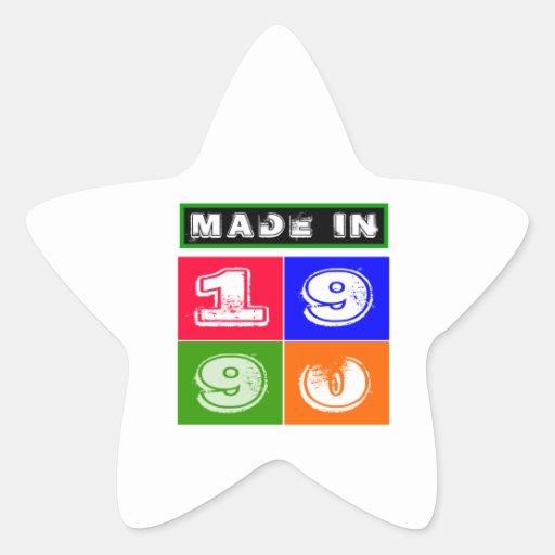 1990 Birthday Designs Stickers