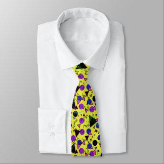 1990 bold geometric tie