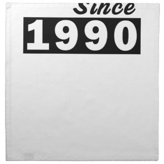 1990 NAPKIN