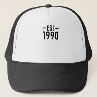 1990 TRUCKER HAT