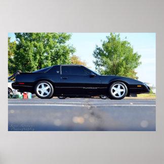 1991 Pontiac Firebird Formula Poster