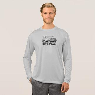 1992-1996 Bronco Front w/logo Black Print T-Shirt