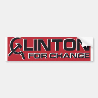 1992 Anti-Clinton Bumper Sticker