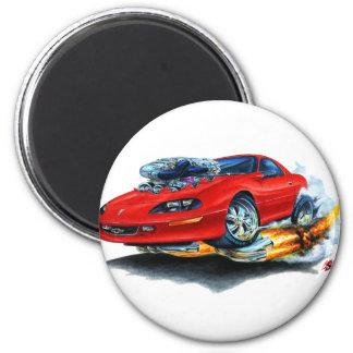 1993-97 Camaro Red Car 6 Cm Round Magnet