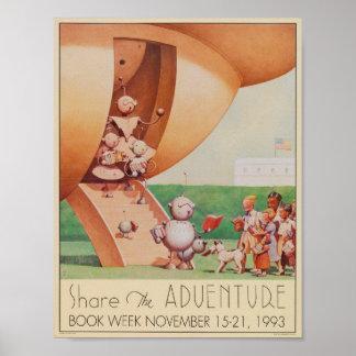 1993 Children's Book Week Poster