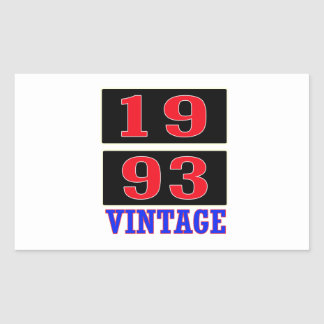 1993 Vintage Stickers