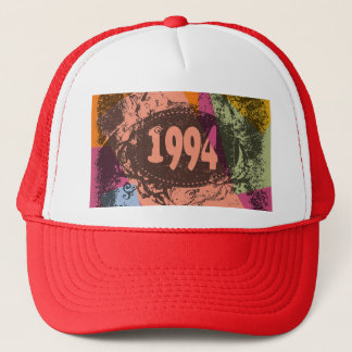1994 Colorful Pop Art - Hat
