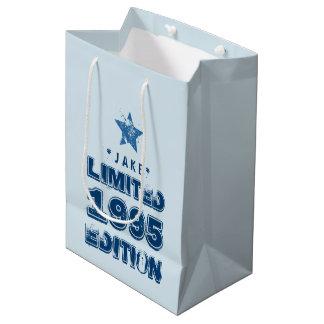 1995 21st Birthday or ANY YEAR Birthday Medium Gift Bag
